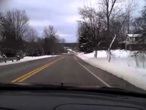 Erie to Corry PA winter 2013 part 2 of 2