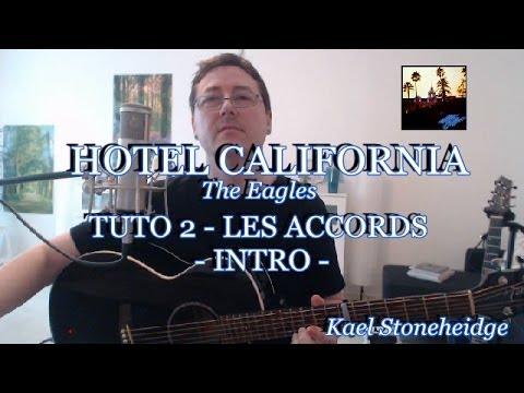hotel california tuto 2 6 intro accords tab sans barr s guitare d butant the eagles. Black Bedroom Furniture Sets. Home Design Ideas