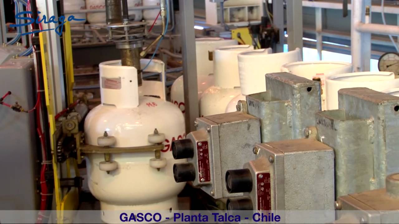 Gasco (Talca - Chile) LPG filling plant equipped with ...