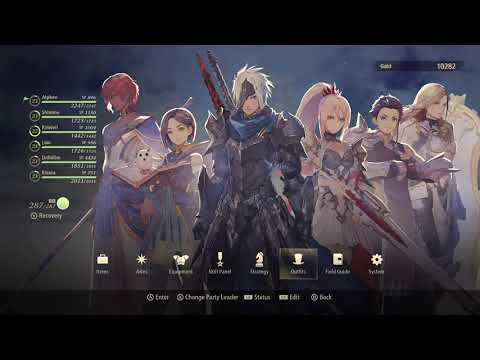 Tales of Arise all DLC outfits and Accessories together  