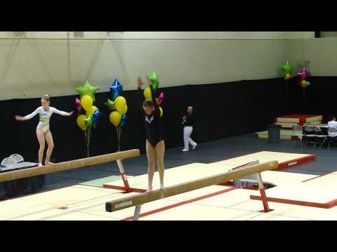 2011 Kitana Lee Gymnix Competition Beam Routine