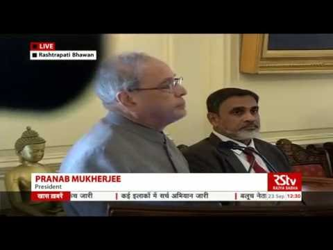 President Pranab Mukherjee's speech at the launch of the book- Citizen and Society