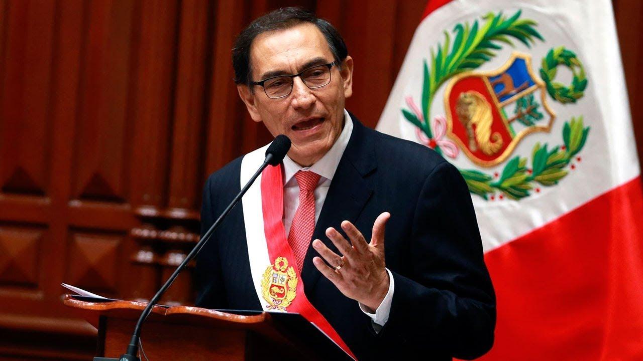 Perú: El Congreso de debatirá si inicia otro pedido de vacancia contra Vizcarra por supuestos actos de corrupción