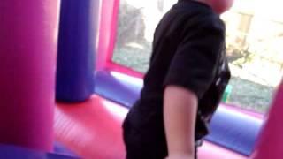 Disney Princess Palace moon bounce party