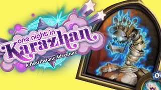 [Hearthstone] One Night in Karazhan Adventure - First Boss Playthrough (Silverware Golem)