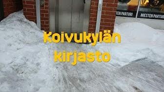 Hissivideo: Koivukylän kirjasto, Vantaa - 1991 Geijer-Hissi (köysihydraulinen)