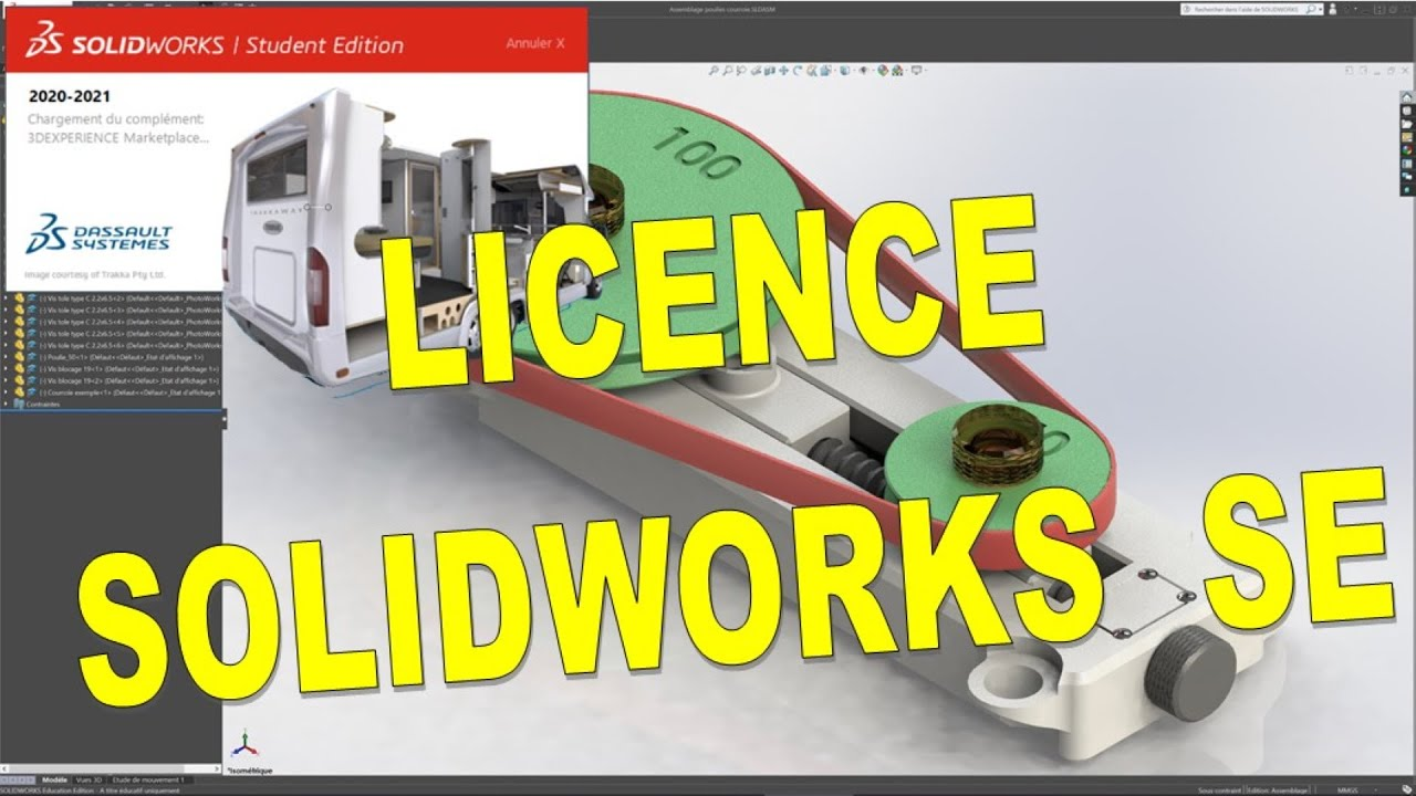 Solidworks 2020 2021 Cad Cam Se Youtube