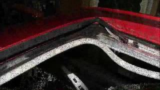 Sun roof  WATER LEAK repair (Toyota Matrix - Pontiac Vibe)