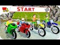 Bike Racing Games - Kids MotorBike Rider Race 2 - Gameplay Android free games