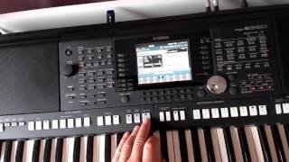 Tutoriel enregistrement WAV sur Yamaha PSR S950 Midi ensuite la transformer en WAV