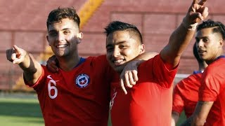 Chile vs Uruguay   Amistoso Selección Sub 20   CHV