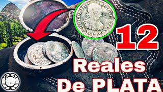 Tesoro Encontrado Alhajero con 12 REALES DE PLATA!!!