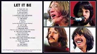 The Beatles - Let It Be 1970 (Full Album )