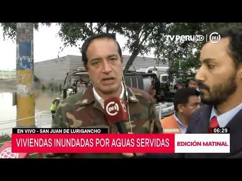 San Juan de Lurigancho: alcalde invoca declarar la zona en emergencia