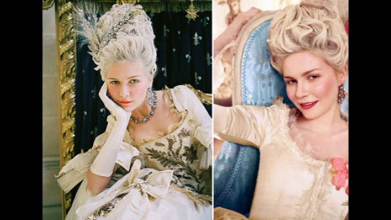 modern day marie antoinette hairstyle - youtube