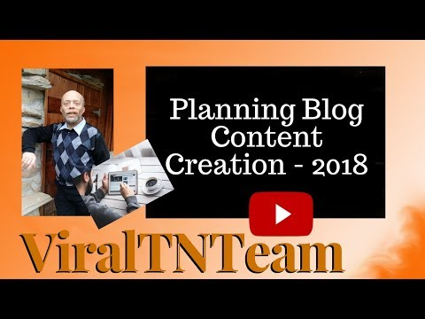 Planning Blog Content Creation Strategy Review [ How To - 2018 ]
