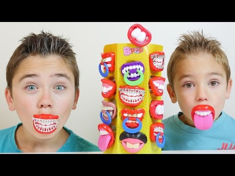 Sucettes Blagues BPOP :) On Change de Bouche ! - Candy Prank