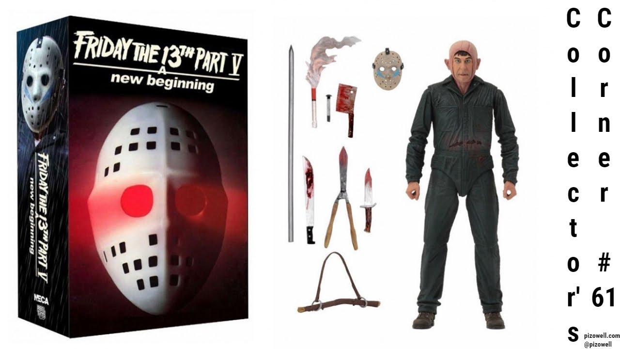 "Friday the 13th Part 5 Ultimate Roy Burn 7/"" Action Figure"