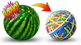 3 köstliche Leckereien, die du aus 1 Wassermelone machen kannst