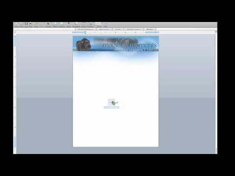 How to make a microsoft word template in mac - YouTube
