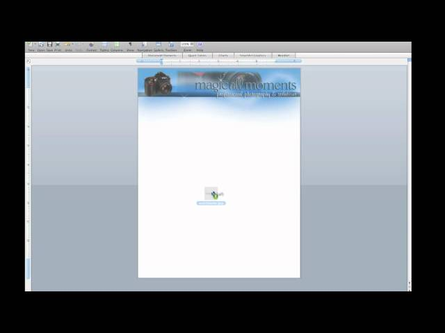 How To Make A Microsoft Word Template In Mac Youtube
