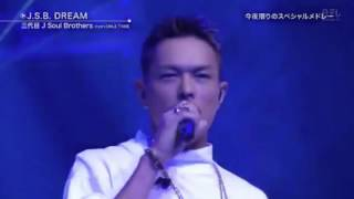 ベストヒット歌謡祭/三代目J Soul Brothers from EXILE TRIBE「J.S.B DREAM」