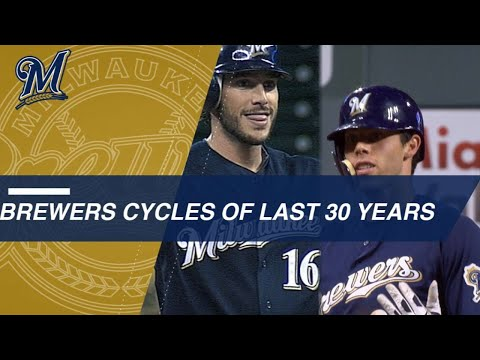 30 years of Milwaukee Brewers hitting for the cycle