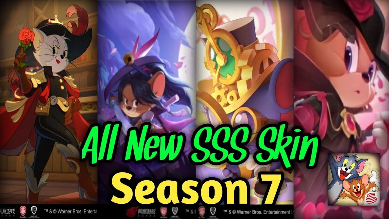 All New SSS Skin Season 7 with Music Theme | Tom and Jerry Chase