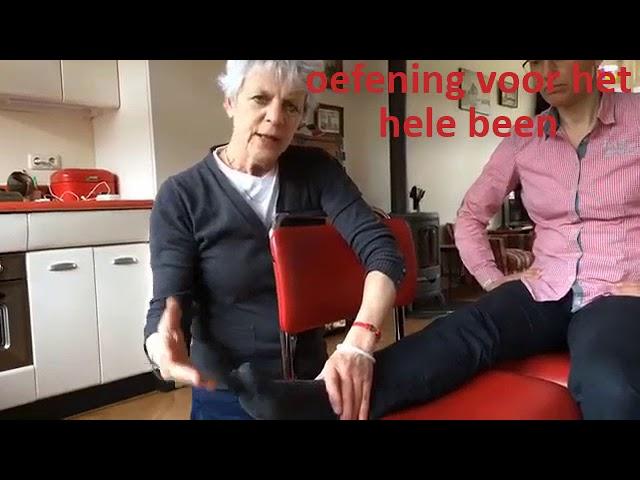 Hielspoor oefeningen voor het hele been
