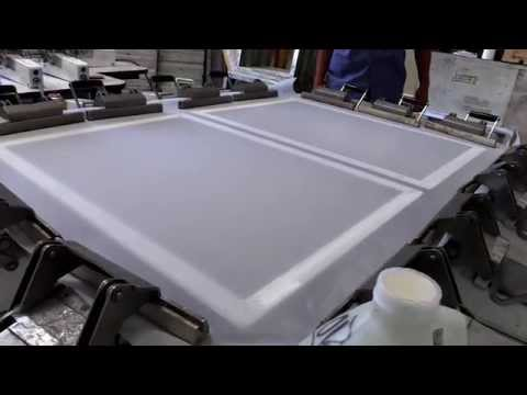 CCI's Screen Printing Frame Re-stretching