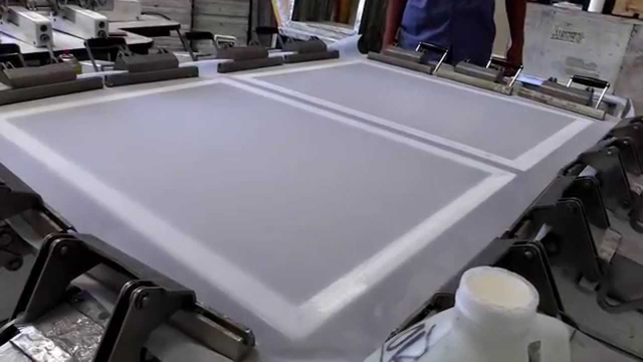 Screen Printing Frame Re-stretching