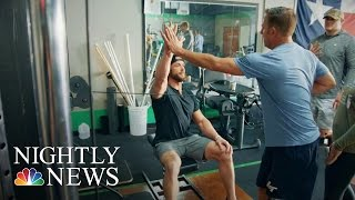 Inspiring America: Former NFL Player Finds Purpose Training Amputees | NBC Nightly News