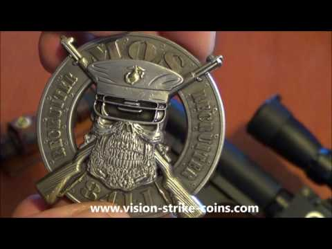USMC MOS 8411 Recruiter Coin