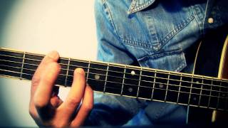 easy guitar e7 a7 b7 simple blues chord progression