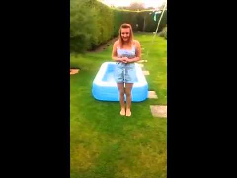 Bethany Edge from Hull takes Ice Bucket Challenge