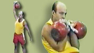 Михаил Бибиков - легенда гиревого спорта / Mikhail Bibikov - the legend of kettlebell sport