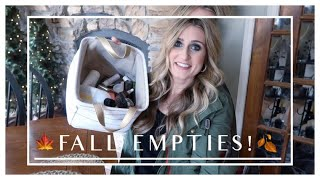 Fall Empties | Products Used Up & Review