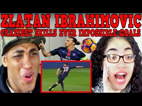Zlatan Ibrahimovic ● Craziest Skills Ever ● Impossible Goals REACTION   MY DAD REACTS