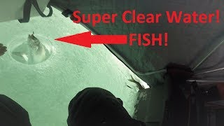 Chequamegon Bay ICE FISHING!