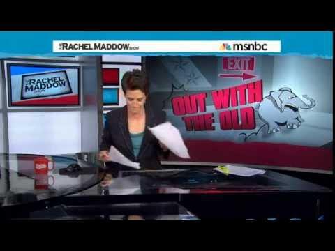 MSNBC's Rachel Maddow speaks approvingly of ALGOP vote
