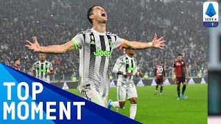 Cristiano Ronaldo Scores the Winner in the 96th Minute! | Juventus 2-1 Genoa | Top Moments | Serie A