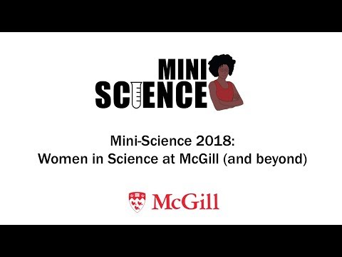 Mini-Science Episode 2: Physics, astrophysics and women @McGill