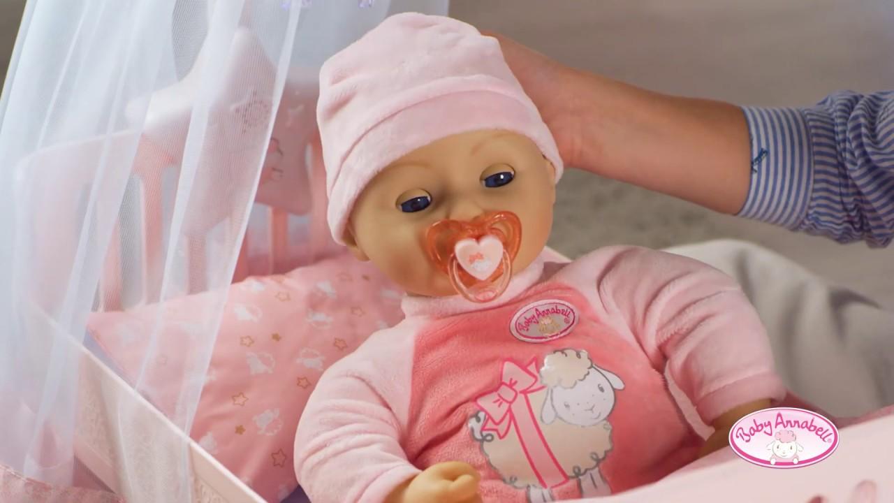 Zapf Creation Baby Annabell panenka a doplňky ke spinkání ...