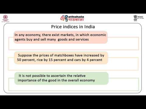 Distinction between real and nominal variables, price index numbers (ECO)