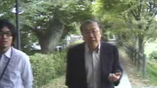 NPO芹川の辻橋正一さんと芹川を歩く(2)