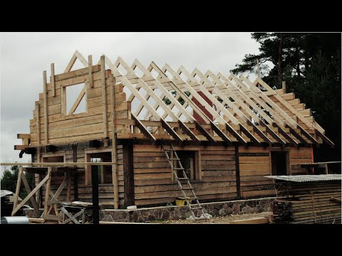 The Birth Of A Wooden House. Extended