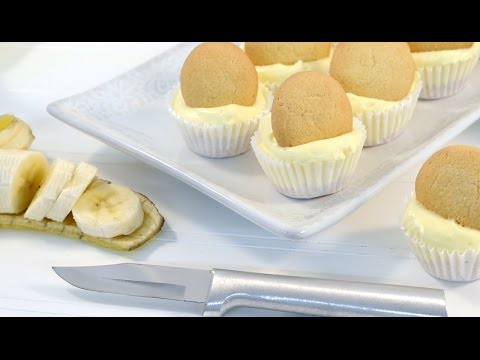 Mini Banana Cream Pie Cheesecake – No Bake Cheesecake Recipe | RadaCutlery.com