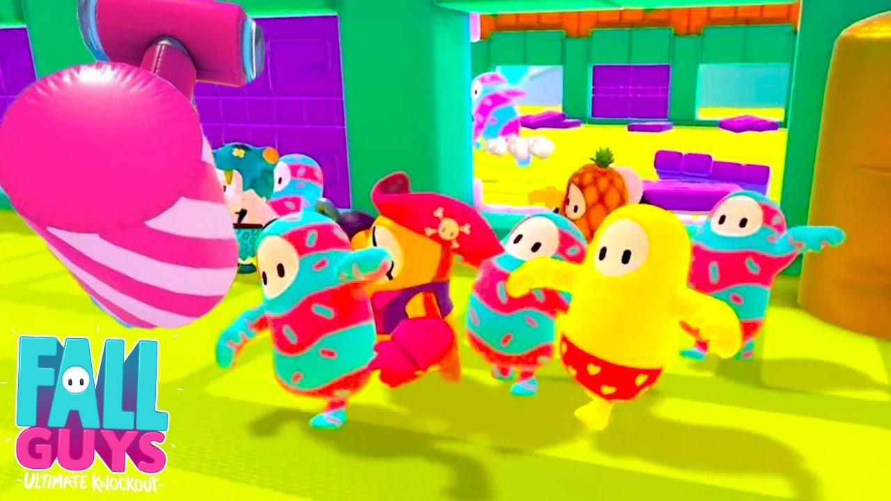 【2人実況】アプデで追加された新要素がおもしろくてめっちゃ笑った60人パーティゲーム【 FALL GUYS 】