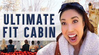 """Imagine living in the ultimate """"Fit Cabin"""" for a weekend..."""