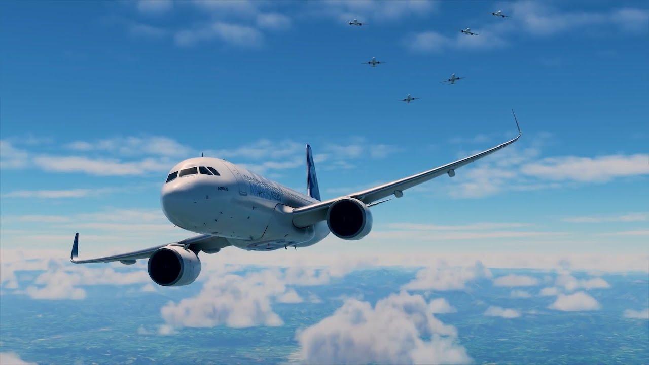 Microsoft Flight Simulator 2020 \ Учимся летать на Airbus A320 🔞🔞🔞